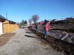 planteurs volontaires de la commune de Gramond